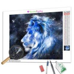 Diamond Painting – Der Löwe der Sterne