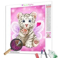 Diamond Painting – Pinker Tiger