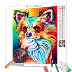 Diamond Painting – Bunter Chihuahua