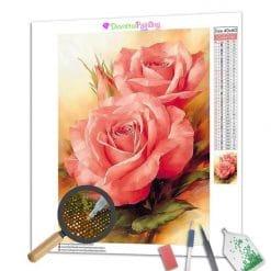 Diamond Painting – Rosen