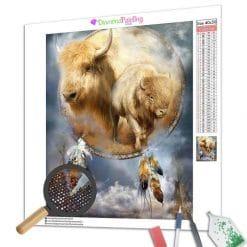 Diamond Painting – Dreamcatcher Büffel