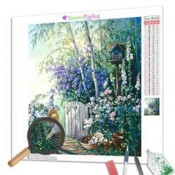 Diamond Painting – Das Gartentor