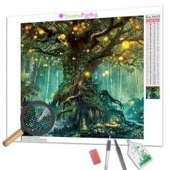 Diamond Painting – Beleuchteter Baum