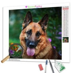 Diamond Painting – Deutscher Schäferhund