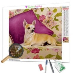 Diamond Painting – Chihuahua
