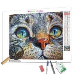 Diamond Painting – Katzengesicht