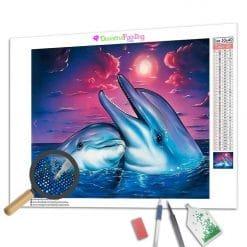 Diamond Painting – Delphin