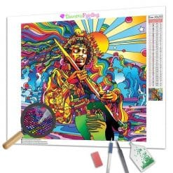 Diamond Painting – Jimi Hendrix