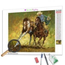 Diamond Painting – Der Cowboy