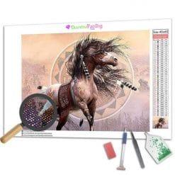 Diamond Painting – Das Pferd des Kriegers