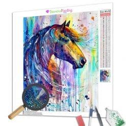 Diamond Painting – Buntes Pferd