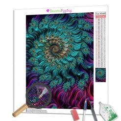 Diamond Painting – Abstrakte Kunst