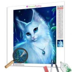 Diamond Painting – Die Mondkatze