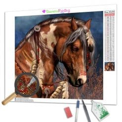 Diamond Painting – Braunes Pferd
