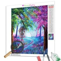 Diamond Painting – Bunter Wald