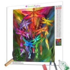 Diamond Painting – Dreamcatcher Libelle