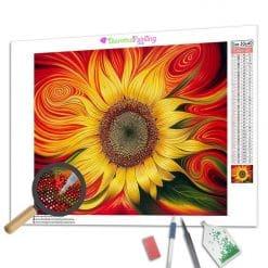 Diamond Painting – Sonnenblume