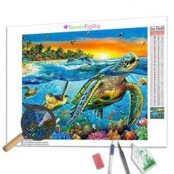 Diamond Painting – Meeresschildkröten