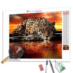 Diamond Painting – Leopard