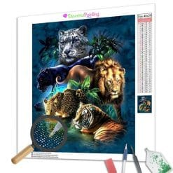 Diamond Painting – Raubkatzen