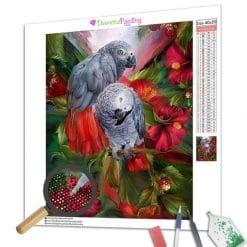 Diamond Painting – Papagei