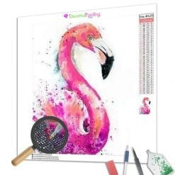 Diamond Painting – Flamingo