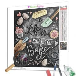 Diamond Painting – Bake It