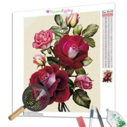Diamond Painting – Rote Rosen