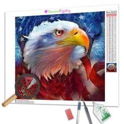 Diamond Painting – Amerikanischer Adler