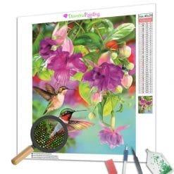 Diamond Painting – Kolibri