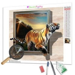 Diamond Painting – Tiger 3D
