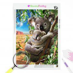 Diamond Painting – Koala Famile