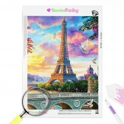 Diamond Painting – Paris und der Eifelturm